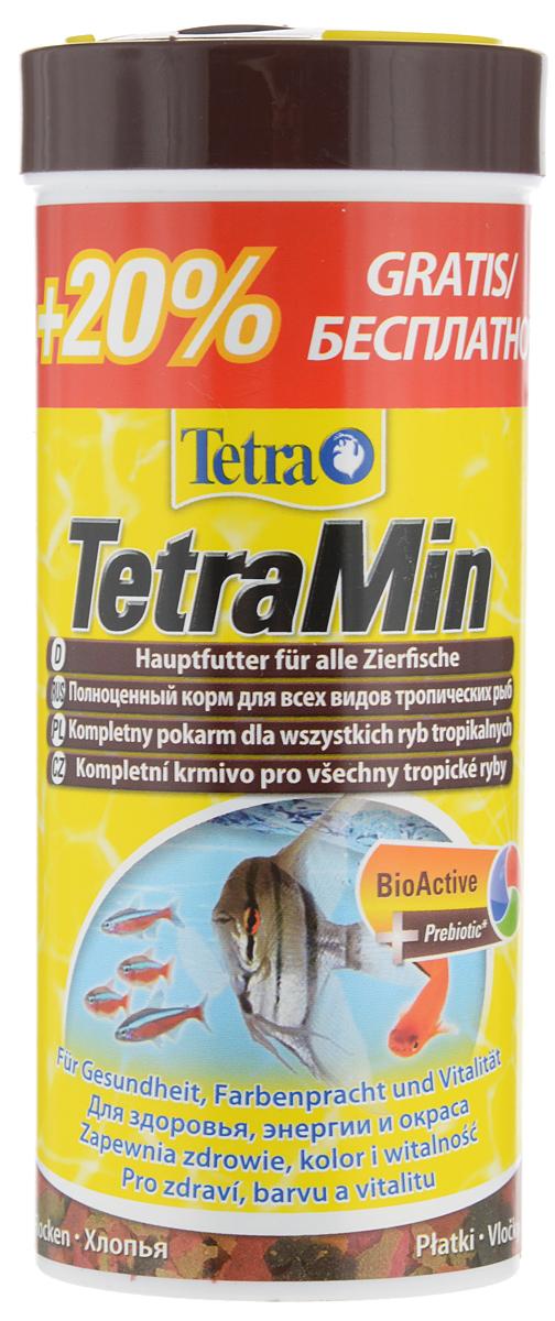 Корм Tetra TetraMin, для всех видов тропических рыб, хлопья, 63 г корм tetra tetramin для всех видов тропических рыб хлопья 63 г