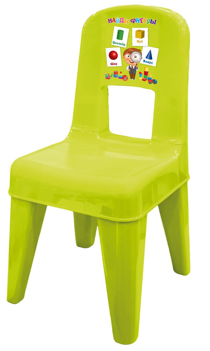 """Детский стул  от Little Angel """"Я расту"""" с обучающей игрой. Уникальный декор в легкой игровой форме позволит выучить основные объемные фигуры, а также закрепить знания цветов. Стул Little Angel разработан с учетом всех анатомических особенностей малыша. Высокая спинка повторяет контуры спины и обеспечивает идеальную поддержку во время сидения. Закругленные углы сидения и ножек для безопасности малыша. Противоскользящие накладки на ножках для использования на любой поверхности. Особо прочная конструкция ножек стула для надежной и безопасной эксплуатации. Уникальный обучающий декор линии """"Обучайка"""" разработан при участии педагогов ДОУ и детских психологов."""
