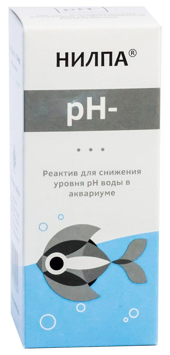 Реактив Нилпа для снижения уровня рН воды в аквариуме