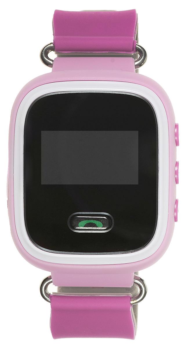TipTop 60Ц, Pink детские часы-телефон00111Детские умные часы-телефон TipTop 60ЦВ с GPS-трекером созданы специально для детей и ихродителей. Сними вы всегда будете знать, где находится ваш ребенок и что рядом с ним происходит.Управление часамипроисходит полностью через мобильное приложение, которое можно бесплатно скачать наAppStore илиPlayMarket.Основные функции:В часы вставляется сим-карта. Родители всегда могут позвонить на часы, также ребенок можетпозвонить счасов на 3 самых важных номера - мама, папа, бабушка. Также можно разрешать или запрещатьномерам звонитьна часы, например, внести в список разрешенных звонков только номера телефонов близких иродных Родители могут слушать, что происходит рядом с ребенком - как няня обращается сребенком, как ребенокотвечает на уроках На часах есть кнопка SOS - в случае опасности ребенок нажимает на эту кнопку, и часыавтоматическидозваниваются на все 3 номера - кто быстрее ответит. Также высылают сообщение родителямс координатамиребенка Датчик снятия с руки - если ребенок снимет часы, то автоматически на телефон родителяпридетуведомление. Также приходят уведомления, если часы разряжены Возможность установить гео-забор - зону, за которую ребенку не следует выходить. Еслиребенок вышел -приходит уведомление на телефон Фитнес-трекер - шагомер, пройденное расстояние, качество сна, потраченное количествокалорийВ каком возрасте ребенку особенно необходимы часы TipTop с функцией GPS?Когда ребенок начинает ходить: уже с этого момента возникает опасность, что он можетпотеряться вмноголюдных местах - супермаркете, аэропортах, вокзалах. Вы сможете отследить егоместорасположение поGPS в любой момент. Напишите ФИО и ваш телефон на ремешке часов, если ваш малыш ещёне умеетразговаривать.С 3 до 8 лет: опасность потеряться в этом возрасте ещё выше. Как правило, дети ещё незнают наизустьномер телефона мамы, иногда даже и домашний адрес. Детские часы TipTop - яркий, удобный икрасивыйаксессуар, который всегда на руке у малыша, а значит вы всегда с 