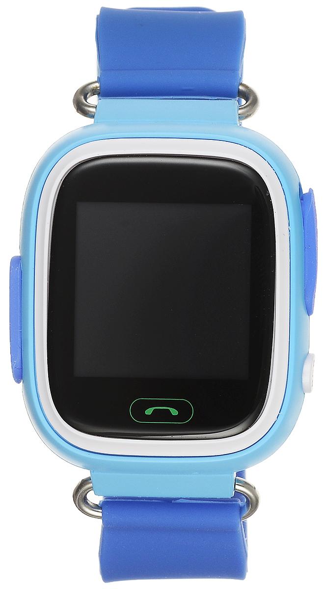 TipTop 80ЦС, Light Blue детские часы-телефон00123Детские умные часы-телефон TipTop 80ЦС с GPS-трекером созданы специально для детей и ихродителей. Сними вы всегда будете знать, где находится ваш ребенок и что рядом с ним происходит.Как они работают и какие имеют преимущества? Управление часами происходит полностьючерез мобильноеприложение, которое можно бесплатно скачать на AppStore или PlayMarket.Основные функции:Родители с помощью мобильного приложения всегда видят на карте, где находится их ребенок В часы вставляется сим-карта. Родители всегда могут позвонить на часы, также ребенокможет позвонить счасов на 3 самых важных номера - мама, папа, бабушка. Также можно разрешать или запрещатьномерам звонитьна часы, например, внести в список разрешенных звонков только номера телефонов близких иродных Родители могут слушать, что происходит рядом с ребенком - как няня обращается сребенком, как ребенокотвечает на уроках. На часах есть кнопка SOS - в случае опасности ребенок нажимает на эту кнопку, и часыавтоматическидозваниваются на все 3 номера - кто быстрее ответит. Также высылают сообщение родителямс координатамиребенка Датчик снятия с руки - если ребенок снимет часы, то автоматически на телефон родителяпридетуведомление. Также приходят уведомления, если часы разряжены Возможность установить гео-забор - зону, за которую ребенку не следует выходить. Еслиребенок вышел -приходит уведомление на телефон Фитнес-трекер - шагомер, пройденное расстояние, качество сна, потраченное количествокалорийВ каком возрасте ребенку особенно необходимы часы TipTop с функцией GPS?Когда ребенок начинает ходить: уже с этого момента возникает опасность, что он можетпотеряться вмноголюдных местах - супермаркете, аэропортах, вокзалах. Вы сможете отследить егоместорасположение поGPS в любой момент. Напишите ФИО и ваш телефон на ремешке часов, если ваш малыш ещёне умеетразговаривать.С 3 до 8 лет: опасность потеряться в этом возрасте ещё выше. Как правило, дети ещё незнают наизустьномер телефона мамы