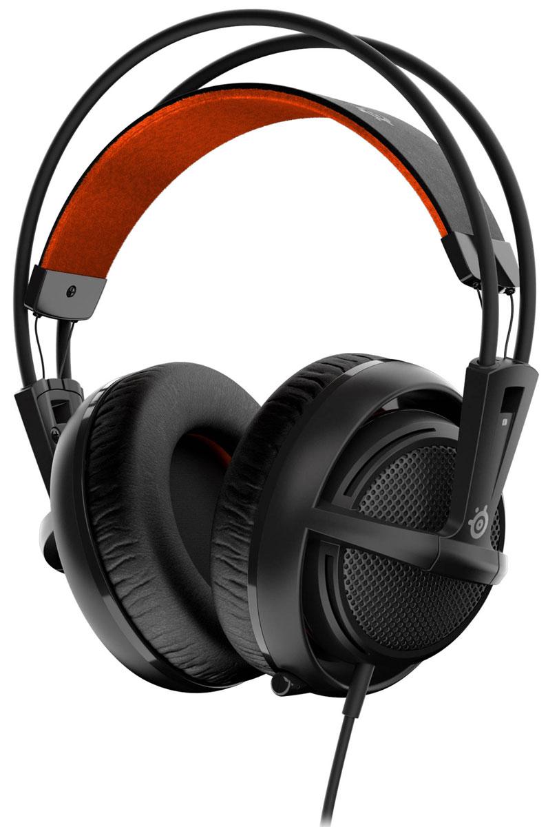 SteelSeries Siberia 200, Black наушники