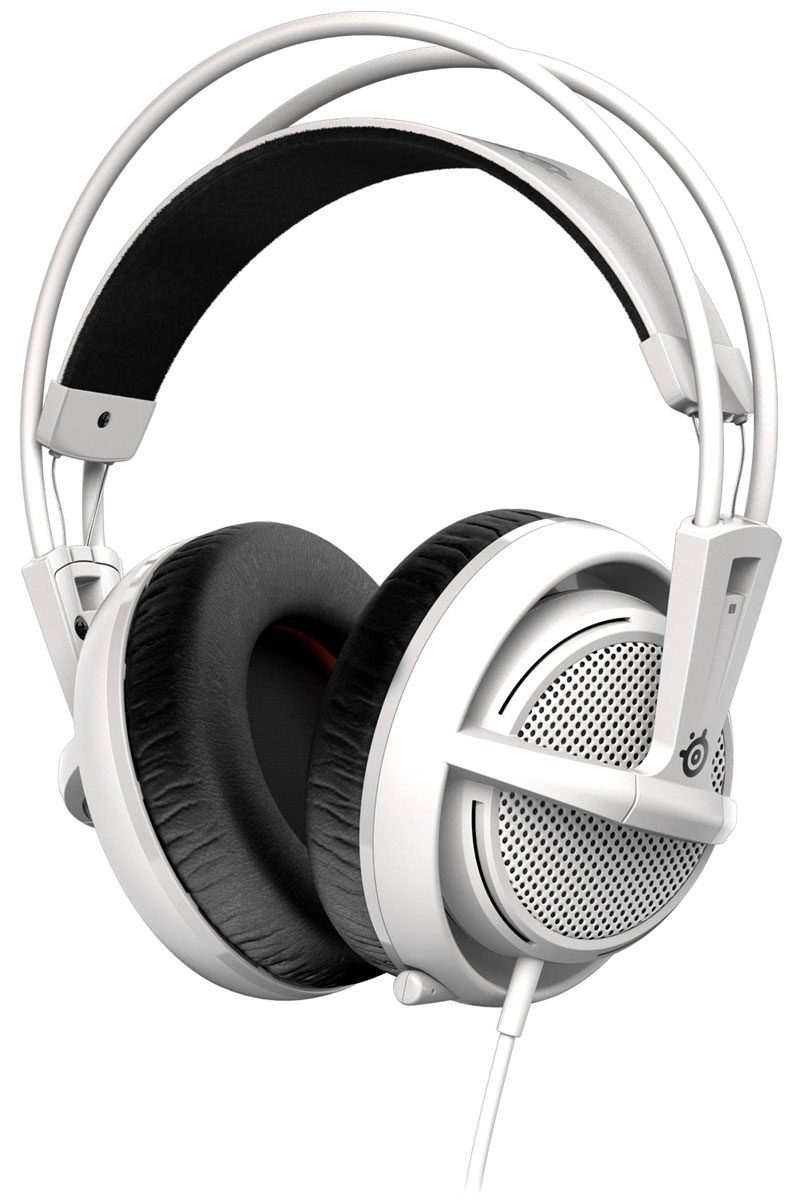 SteelSeries Siberia 200, White наушники steelseries siberia 800