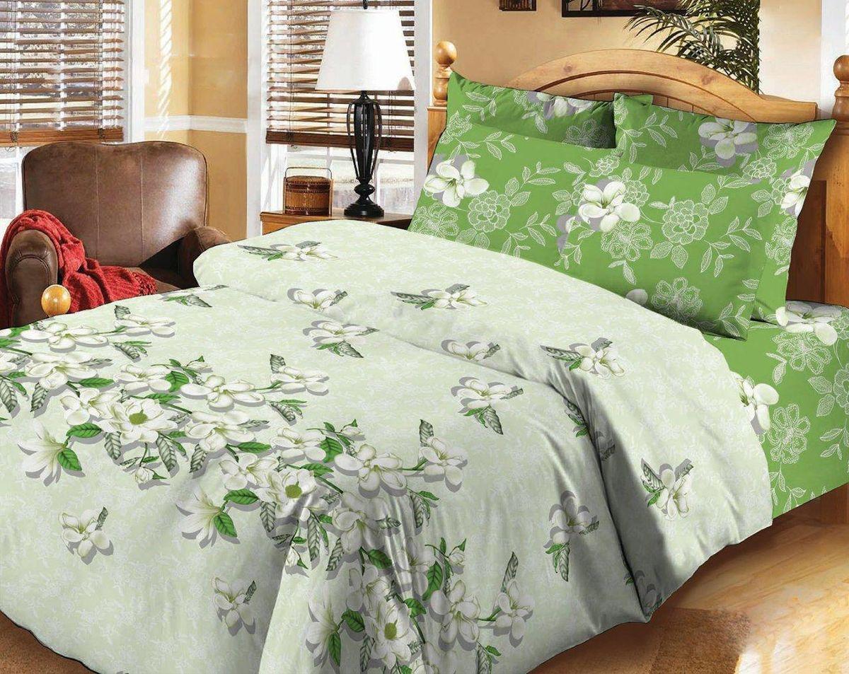Комплект белья Liya Home Collection Яблоневый цвет, 2-спальный, наволочки 70x70 комплекты белья rhs комплект белья