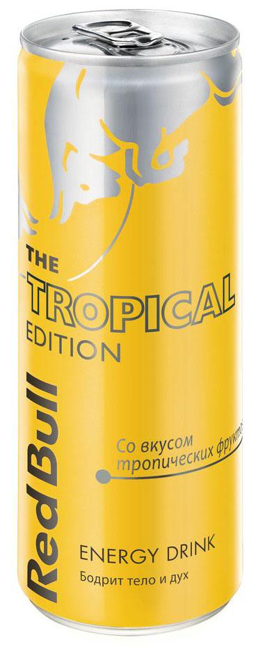 где купить Red Bull Tropical Edition энергетический напиток, 250 мл по лучшей цене