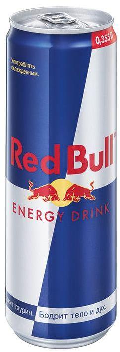 Red Bull энергетический напиток, 355 мл e wedel молочный шоколад с фруктовой начинкой черника земляника 100 г
