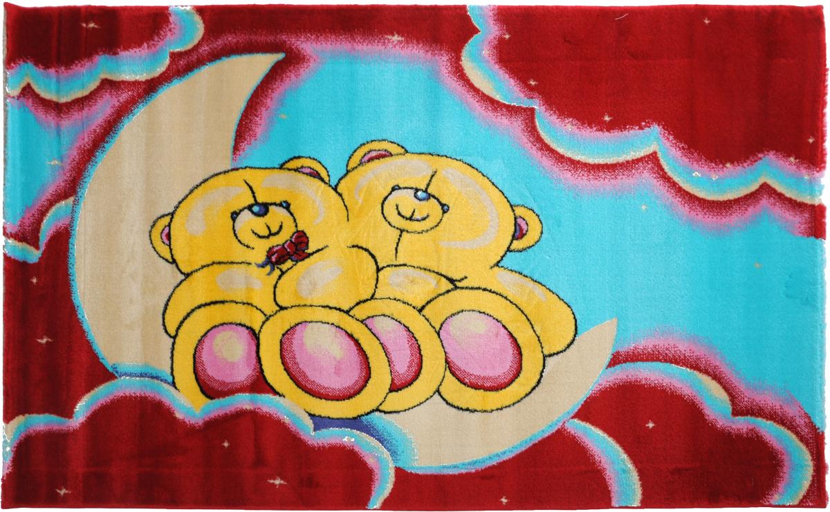 Ковер детский Kamalak Tekstil Мишки, прямоугольный, 100 x 150 смУКД-2022Детский ковер Kamalak Tekstil Мишки изготовлен из высококачественного полипропилена.Полипропилен износостоек, нетоксичен, не впитывает влагу, не провоцирует аллергию. Структура волокна в полипропиленовых коврах гладкая, поэтому грязь не будет въедаться и скапливаться на ворсе. Практичный и износоустойчивый ворс не истирается и не накапливает статическое электричество. Ковер обладает хорошими показателями теплостойкости и шумоизоляции. Оригинальный рисунок позволит гармонично оформить интерьер детской комнаты. За счет невысокого ворса ковер легко чистить. При надлежащем уходе синтетический ковер прослужит долго, не утратив ни яркости узора, ни блеска ворса, ни упругости. Самый простой способ избавить изделие от грязи - пропылесосить его с обеих сторон (лицевой и изнаночной). Влажная уборка с применением шампуней и моющих средств не противопоказана. Хранить рекомендуется в свернутом рулоном виде.