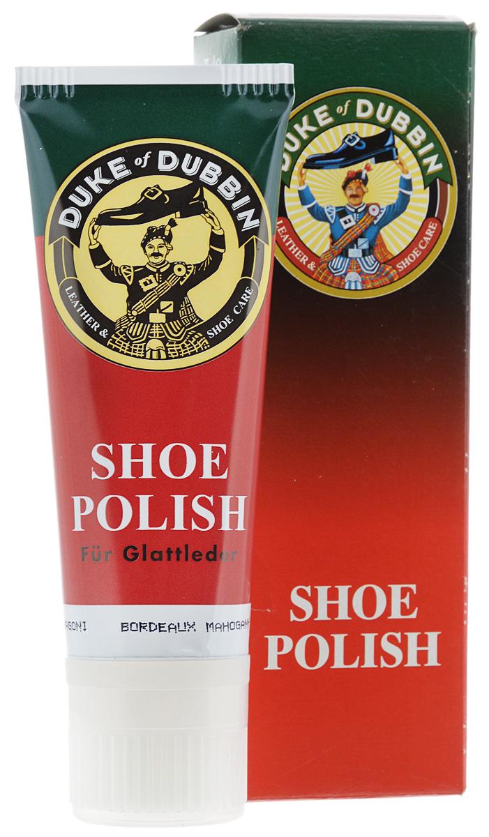 Крем для гладкой кожи Duke of Dubbin Duke Shoe Polish, цвет: бордо, 75 мл3303 751Специализированный крем Duke of Dubbin Duke ShoePolish предназначен для ухода за изделиями изгладкой кожи. В состав крема входят: воск, жиры имасла, питающие кожу и ухаживающие за ней.Специальные ингредиенты придают коже болеенасыщенный цвет и яркость. Объем: 75 мл.Товар сертифицирован.