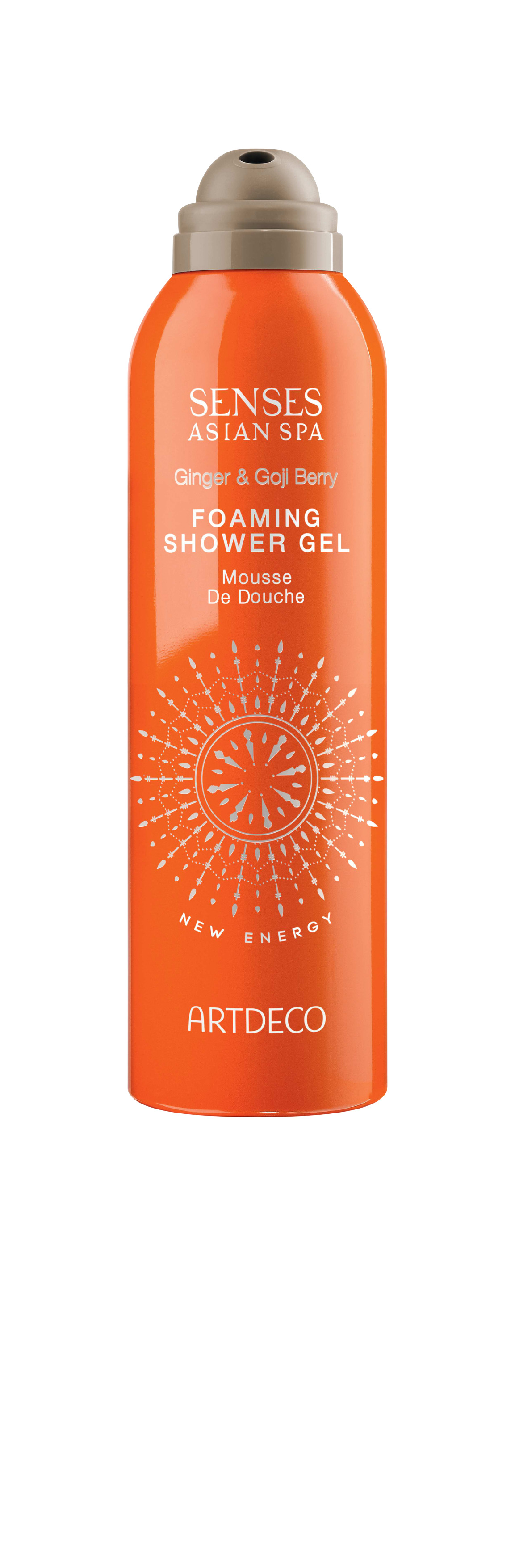 Artdeco гель-пена для душа Foaming shower gel, new energy, 200 мл artdeco artdeco гель лак для ногтей art couture 942 venetian red 10 мл