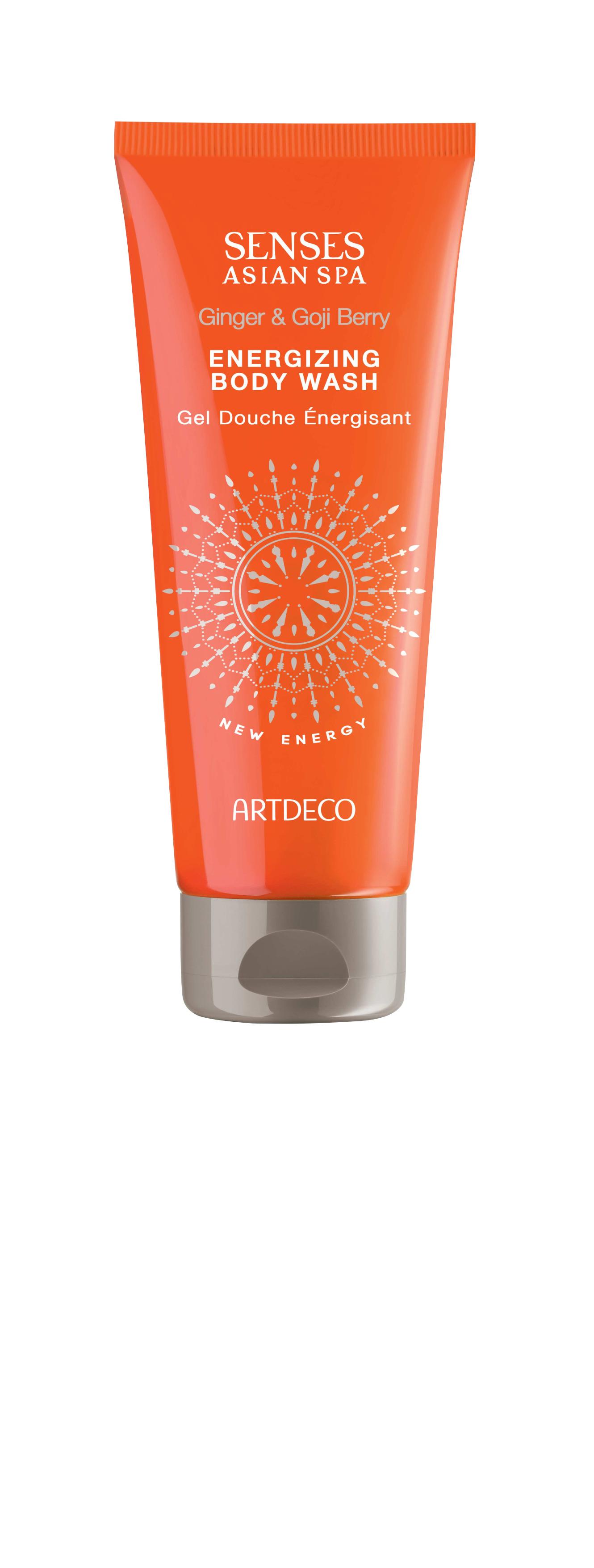 Artdeco гель для душа тонизирующий Energizing body wash, new energy, 200 мл energizing w edt spr