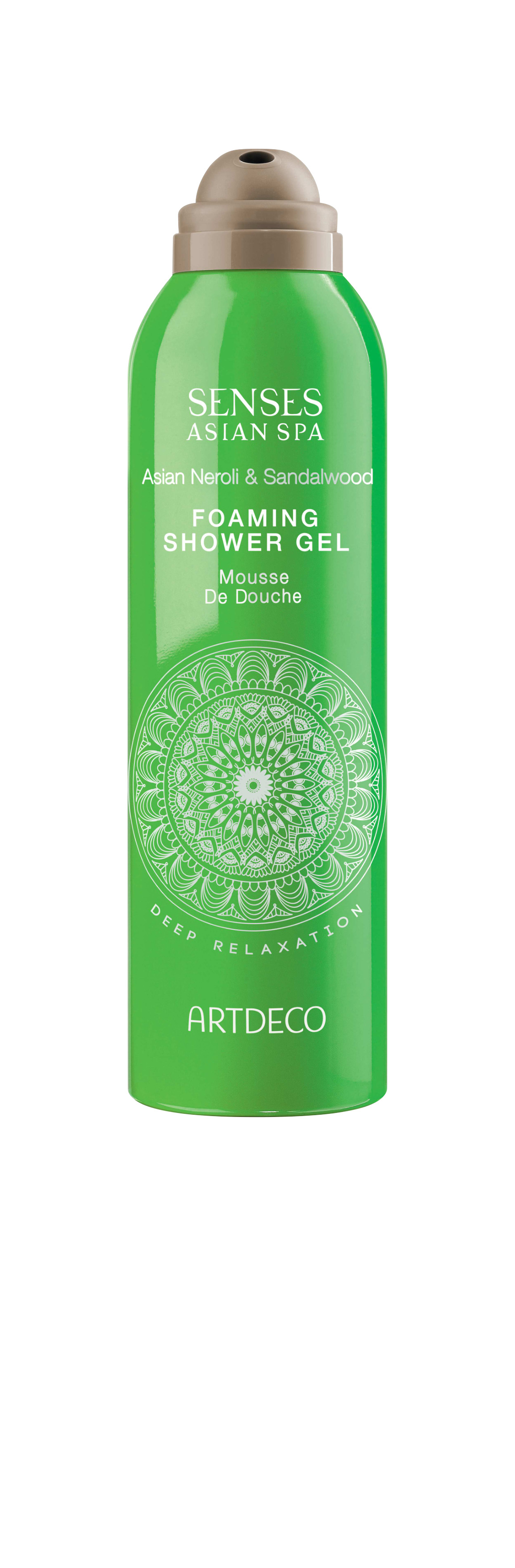 Artdeco гель-пена для душа Foaming shower gel, deep relaxation, 200 мл скраб artdeco deep exfoliating foot scrub deep relaxation