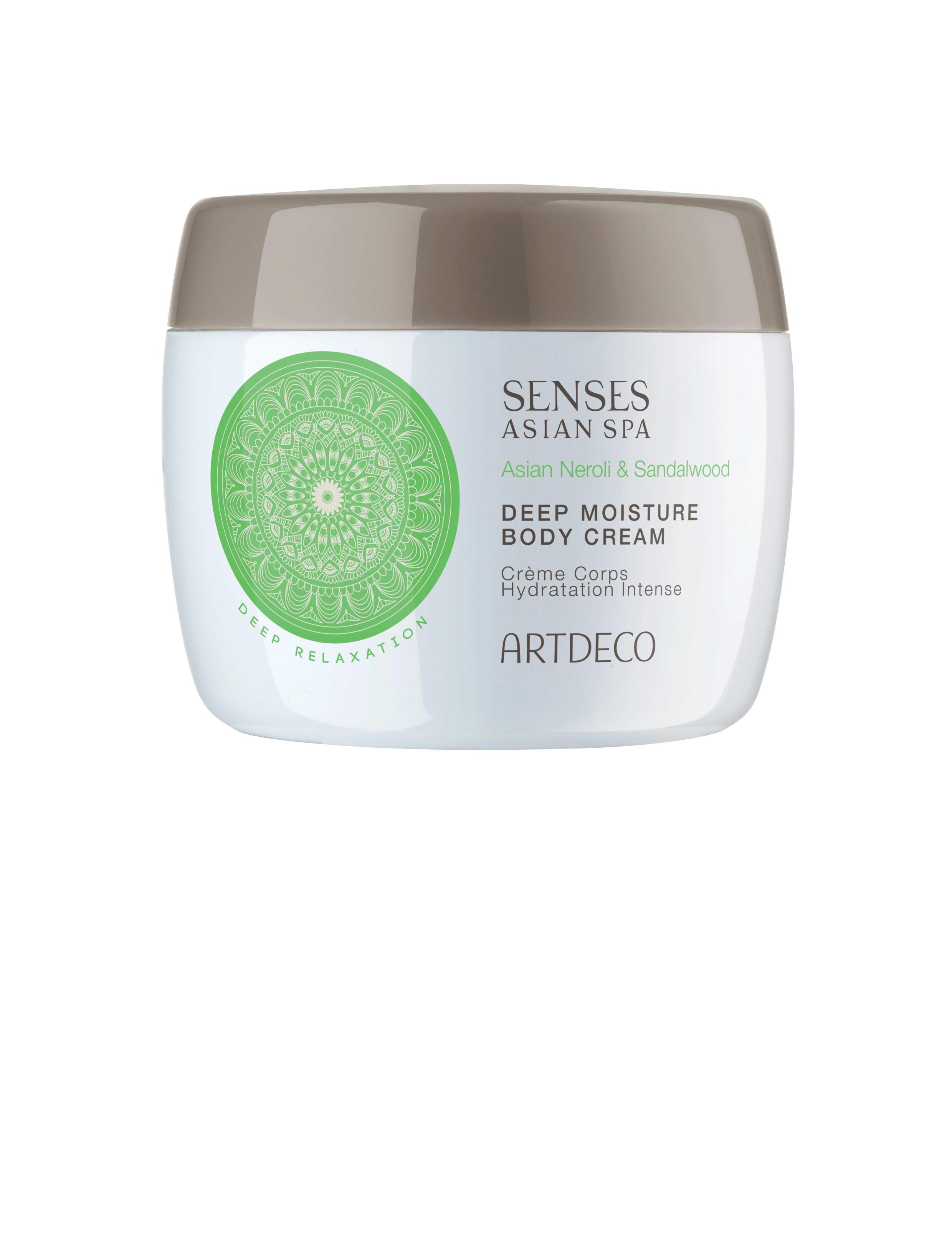 Artdeco крем для тела глубокоувлажняющий Deep moisture body cream, deep relaxation, 200 мл65203Делает кожу мягкой и нежной Интенсивно ухаживает за ней днем и ночью