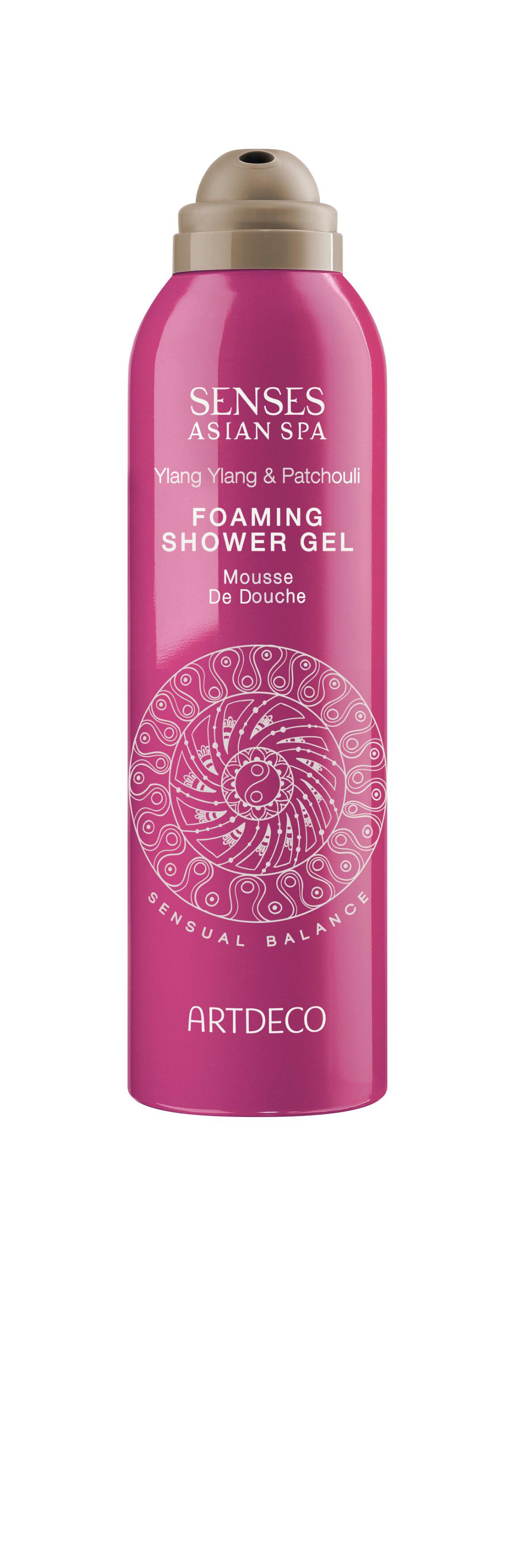 Artdeco гель-пена для душа Foaming shower gel, sensual balance, 200 мл65300Нежно очищает, увлажняет, питает и восстанавливает кожуПри контакте с водой превращается в воздушную пену
