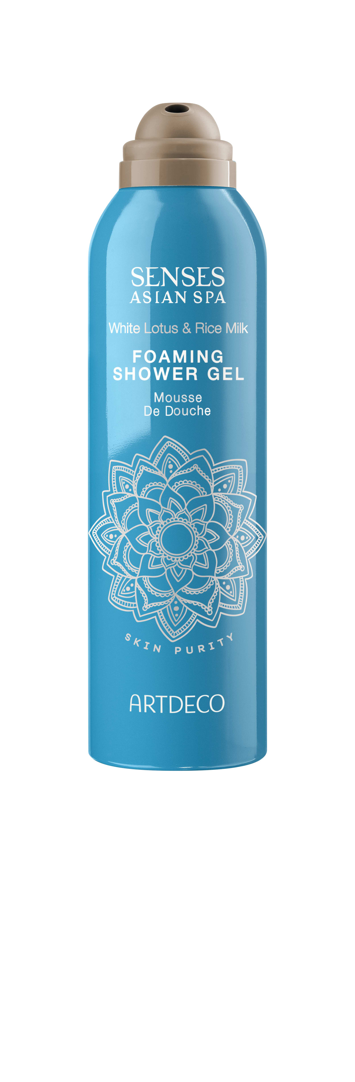 Artdeco гель-пена для душа Foaming shower gel, skin purity, 200 мл65400Нежно очищает кожуУвлажняет и освежаетПри контакте с водой превращается в воздушную пену
