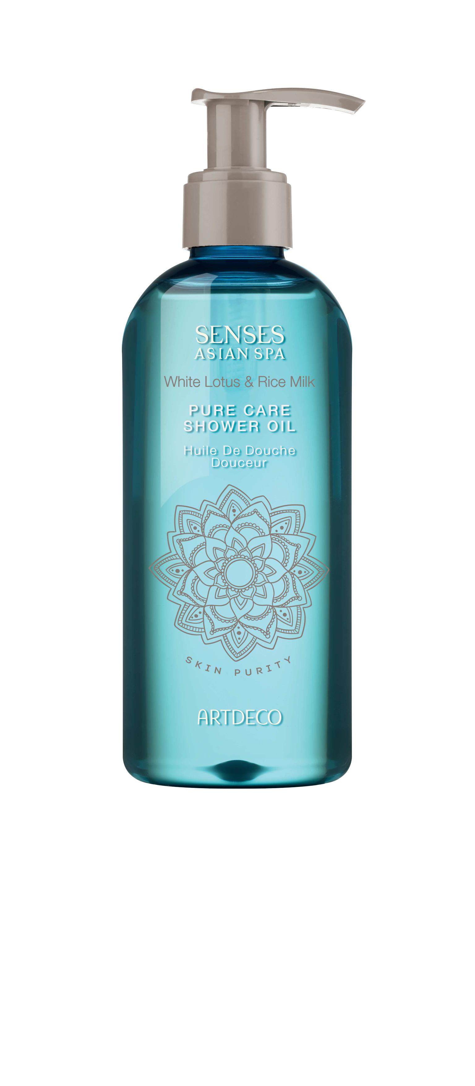 Artdeco масло для душа Pure care shower oil, skin purity, 200 мл65401Деликатно очищает кожу Увлажняет и питаетДарит упоительный аромат