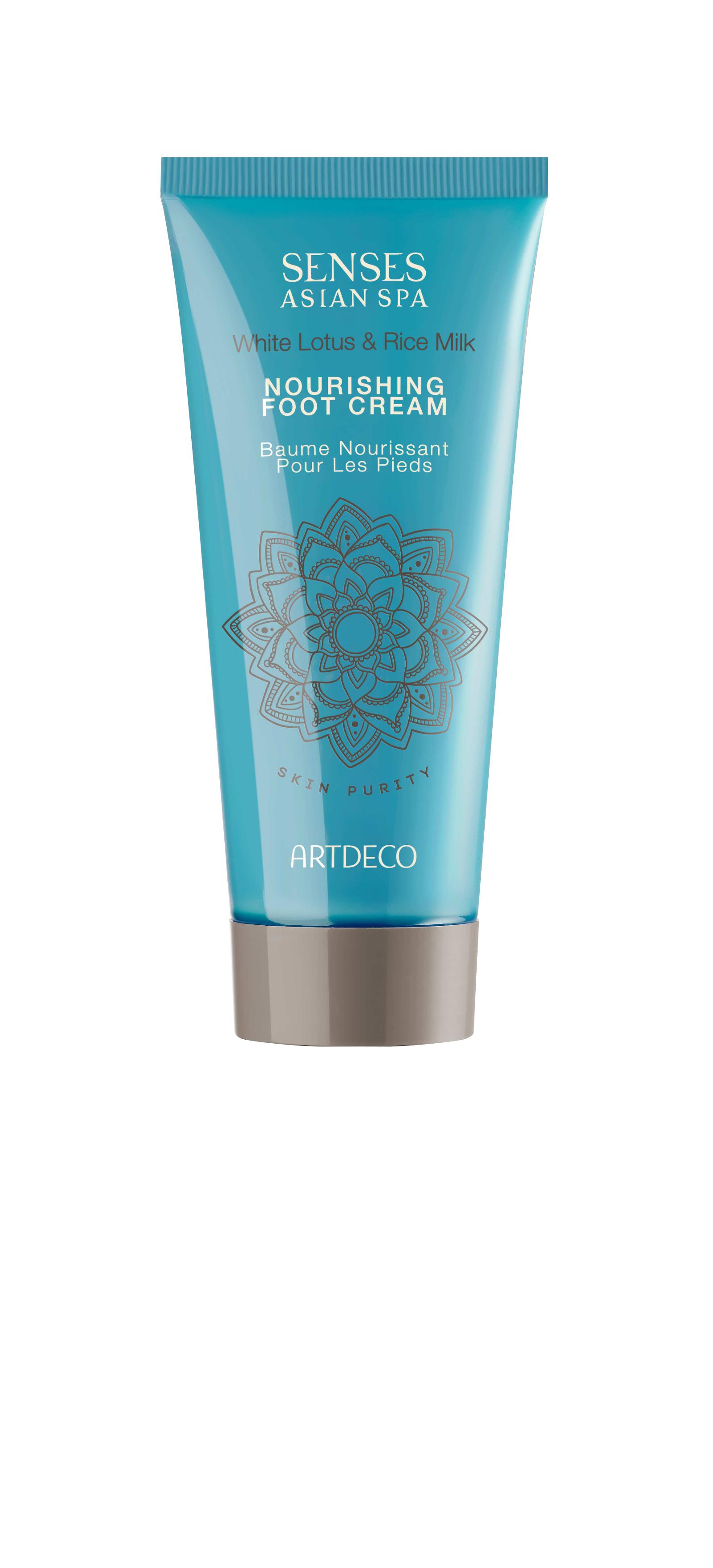 Artdeco крем для ног питательный Nourishing foot cream, skin purity, 100 мл65431Интенсивно смягчает и питает Помогает снять усталостьДарит освежающий эффект