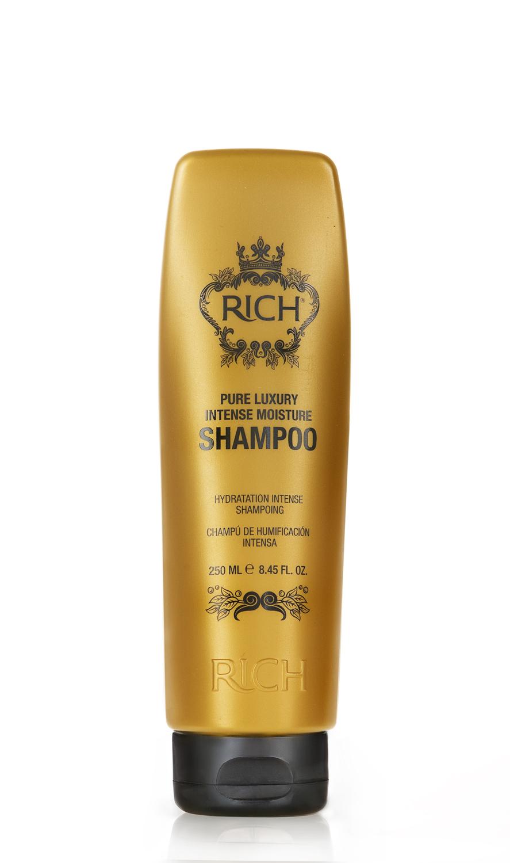 Rich Интенсивный увлажняющий шампунь, 250 мл150500Шампунь для ежедневного применения. Интенсивно увлажняет и питает волосы, придает блеск и помогает улучшить состояние волос• Проникает внутрь волоса и утолщает его изнутри• Накапливается внутри волокна, делает волосы более густыми надолго• Пышные роскошные волосы после 5 применений