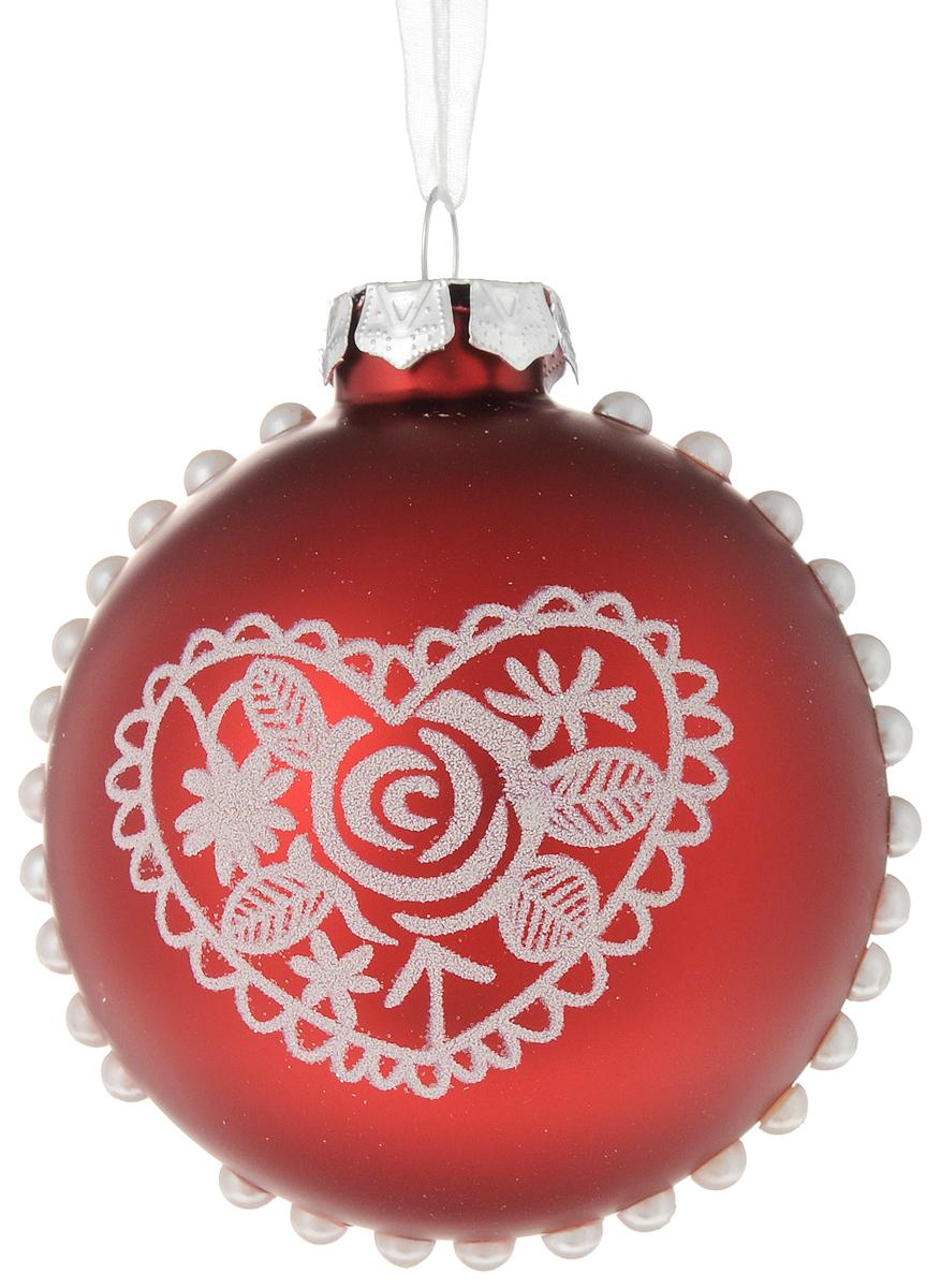 Украшение новогоднее подвесное Magic Time Шар, диаметр: 8 см