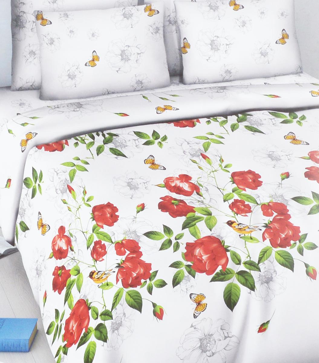 Комплект белья Василиса Свежесть утра, семейный, наволочки 70х705664/сКомплект белья Василиса Свежесть утра, выполненный из набивной бязи (100% хлопок), состоит из двух пододеяльников, простыни и двух наволочек.Бязь - хлопчатобумажная ткань полотняного переплетения без искусственных добавок. Большое количество нитей делает эту ткань более плотной, более долговечной. Высокая плотность ткани позволяет сохранить форму изделия, его первоначальные размеры и первозданный рисунок.Приобретая комплект постельного белья Василиса, вы можете быть уверенны в том, что покупка доставит вам и вашим близким удовольствие и подарит максимальный комфорт.