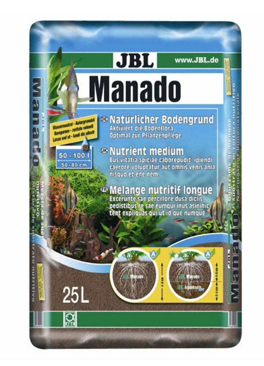 Питательный грунт JBL Manado, улучшающий качество воды и стимулирующий рост растений,цвет: красно-коричневый (латеритной почвы), 25 л грунт гф 021 красно коричневый krafor 0 8кг