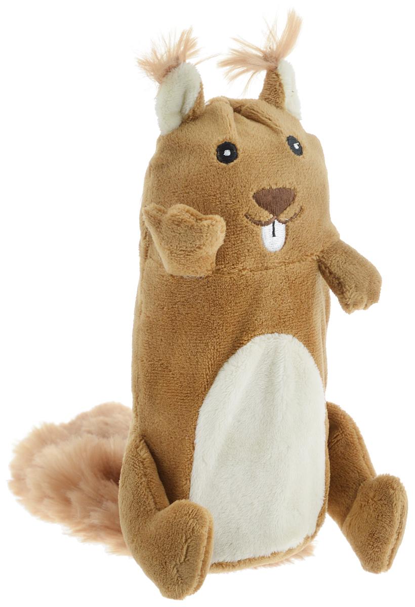Игрушка для собак GiGwi Белка, с пищалкой, высота 17 см75015Игрушка для собак GiGwi Белка порадует вашу собаку и доставит ей море веселья. Несмотря на большое количество материалов, большинство собак для игры выбирают классические плюшевые игрушки. Такие игрушки можно носить, уютно прижиматься во сне, жевать. Некоторые собаки просто любят взять в зубы игрушку и ходить с ней повсюду. Мягкие игрушки сохраняют запах питомца, поэтому он каждый раз к ней возвращается. Милые, мягкие и приятные зверушки характеризуются высоким качеством исполнения и привлекательным дизайном. Внутри игрушки нет наполнителя, что поможет сохранить чистоту в помещении. Игрушка снабжена пищалкой, которая привлекает внимание животного.