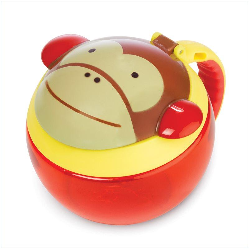 Skip Hop Контейнер-чашка для снеков Обезьяна - Все для детского кормления