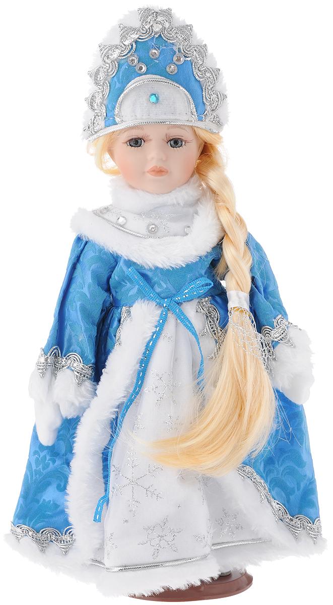 Кукла декоративная Феникс-Презент Снегурочка Ариша, 30 см декоративная фигурка феникс презент африканка с дочерьми высота 38 5 см