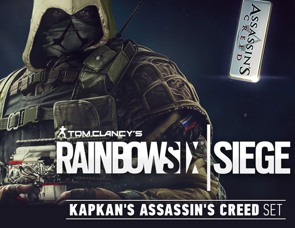 Tom Clancy's Rainbow Six: Осада. Kapkan's Assassin's Creed Set, Ubisoft Montreal