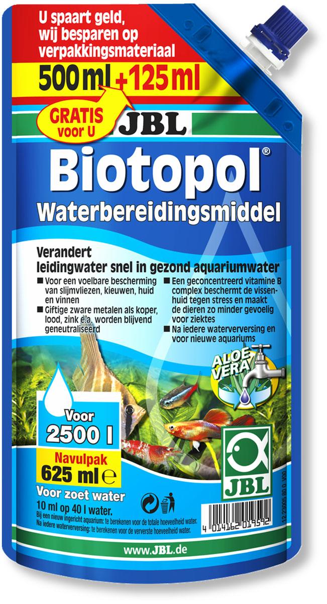 Кондиционер для аквариума JBL  Biotopol , для подготовки воды, 625 мл - Средства для ухода и гигиены