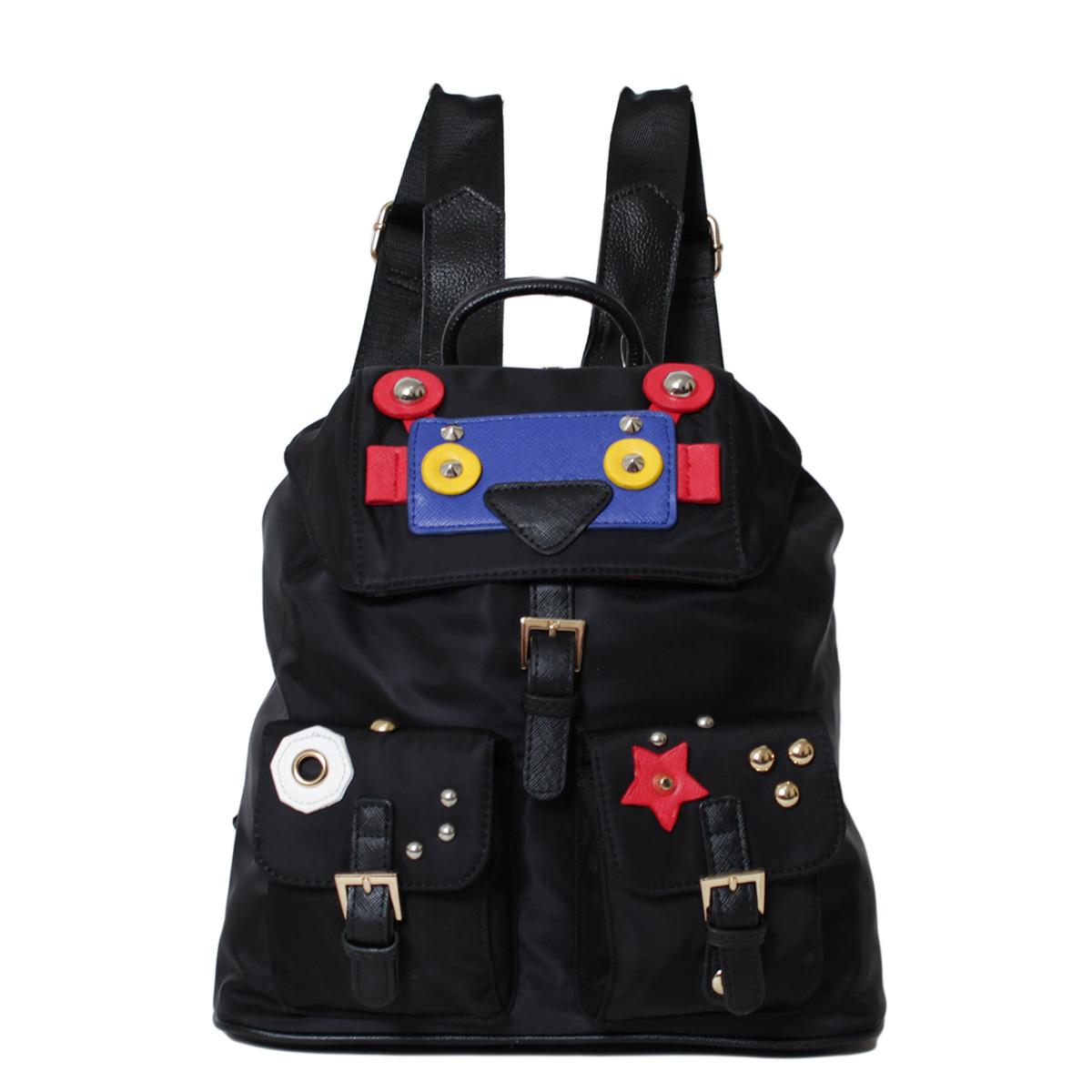 Рюкзак женский Flioraj, цвет: черный. 00052448 рюкзак женский flioraj цвет синий 321 8