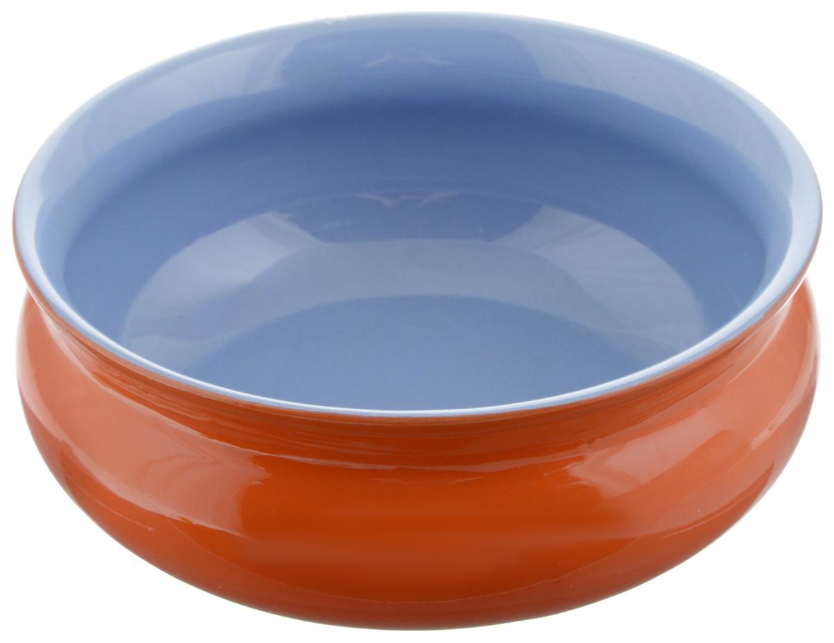 Тарелка глубокая Борисовская керамика Скифская, цвет: оранжевый, голубой, 500 млРАД14458194_оранжевый, голубойГлубокая тарелка Борисовская керамика Скифская выполнена из керамики. Изделие сочетает в себе изысканный дизайн с максимальной функциональностью. Она прекрасно впишется в интерьер вашей кухни и станет достойным дополнением к кухонному инвентарю. Такая тарелка подчеркнет прекрасный вкус хозяйки и станет отличным подарком. Можно использовать в духовке и микроволновой печи.Диаметр тарелки (по верхнему краю): 14 см.Объем: 500 мл.