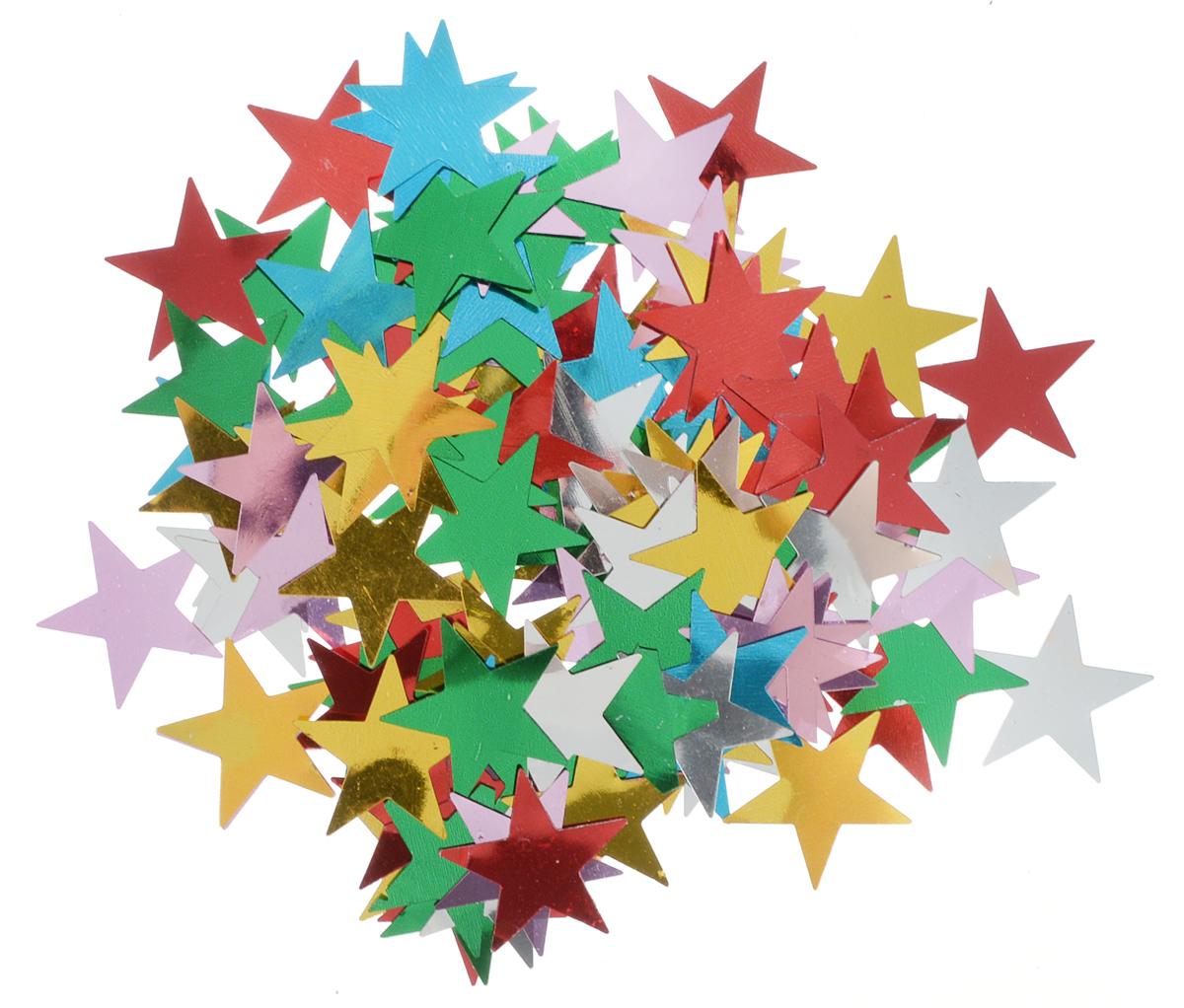 Конфетти новогоднее Magic Time Звездочки, 13 г42146/75796Новогоднее конфетти Magic Time Звездочки выполнено из ПЭТ (полиэтилентерефталата) в форме звезд. Конфетти создаст праздничное настроение, сделает праздник ярким и незабываемым. Новогодние украшения всегда несут в себе волшебство и красоту праздника. Создайте в своем доме атмосферу тепла, веселья и радости, украшая его всейсемьей. Вес упаковки: 13 г. Размеры звезды: 2,8 х 2,8 см.