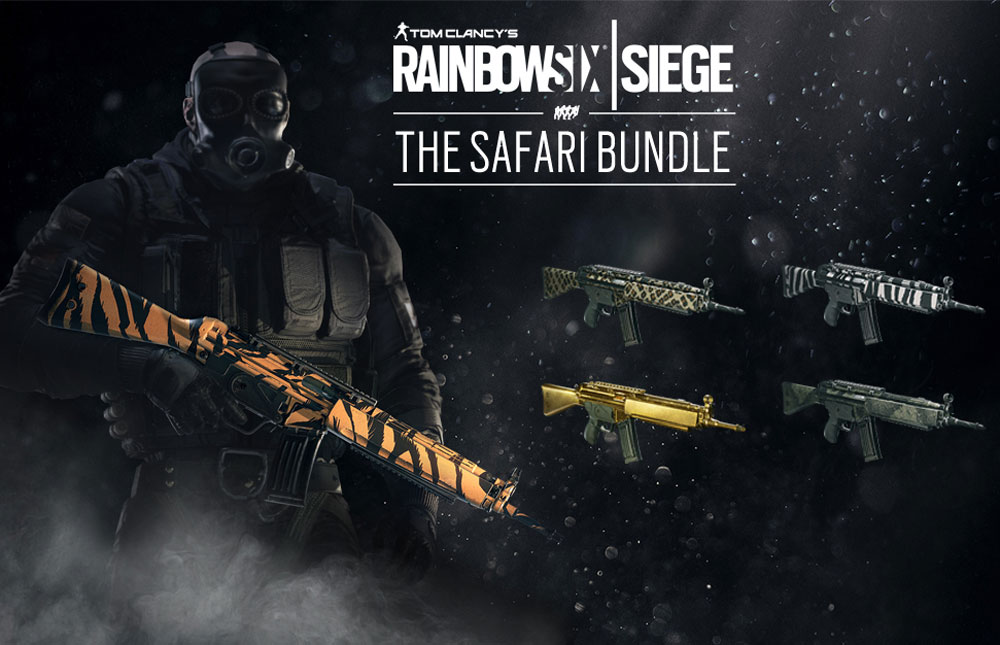 Tom Clancy's Rainbow Six: Осада. The Safari Bundle