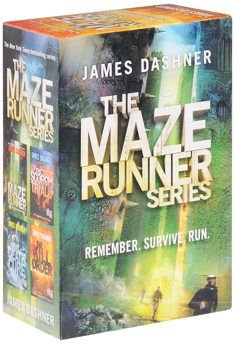 The Maze Runner (комплект из 4 книг) the giver quartet set of 4 books