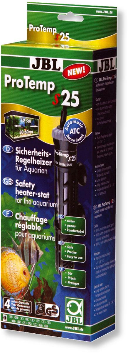 Нагреватель для аквариума JBL ProTemp S, с терморегулятором, 25 ВтJBL6042100Нагреватель JBL ProTemp S обеспечивает высокую точность поддержания заданной температуры. Идеальная передача температуры за счет нагревательного элемента из керамики. Полностью погружной. Ударопрочный корпус, выполненный из высококачественного стекла, обеспечивает нагревателю долгий срок эксплуатации. Нагреватель оснащен терморегулятором со шкалой температуры. Пластиковый кожух защитит рыб от ожогов. Крепится при помощи двух присосок. Автоматическое отключение нагревателя при понижении уровня воды или при его извлечении.Мощность: 25 Вт.Температура: 20-34°С.Рекомендуемый объем аквариума: 10-50 л.Напряжение: 220-240В.Частота: 50/60 Гц.Длина нагревателя: 21 см.