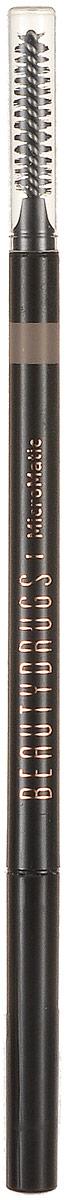Beautydrugs MicroMatic Механический карандаш Blonde, 0,9 гр00056Автоматический карандаш для бровей Beautydrugs Micro Matic имеет тончайший грифель, который не требует затачивания. Наносится легчайшим движением и позволяет прорисовать даже самые тоненькие линии, имитируя настоящие волоски. Карандаш не смазывается и не тускнеет в течение всего дня. Универсальные оттенки подобраны с учетом славянской внешности.