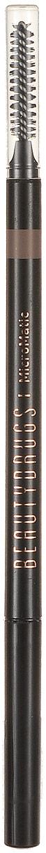 Beautydrugs MicroMatic Механический карандаш Taupe 0,9 гр00049Автоматический карандаш для бровей Beautydrugs Micro Matic имеет тончайший грифель, который не требует затачивания. Наносится легчайшим движением и позволяет прорисовать даже самые тоненькие линии, имитируя настоящие волоски. Карандаш не смазывается и не тускнеет в течение всего дня. Универсальные оттенки подобраны с учетом славянской внешности.Как создать идеальные брови: пошаговая инструкция. Статья OZON Гид