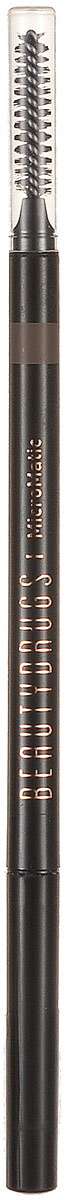 Beautydrugs MicroMatic Механический карандаш Brunette 0,9 гр00032Автоматический карандаш для бровей Beautydrugs Micro Matic имеет тончайший грифель, который не требует затачивания. Наносится легчайшим движением и позволяет прорисовать даже самые тоненькие линии, имитируя настоящие волоски. Карандаш не смазывается и не тускнеет в течение всего дня. Универсальные оттенки подобраны с учетом славянской внешности.