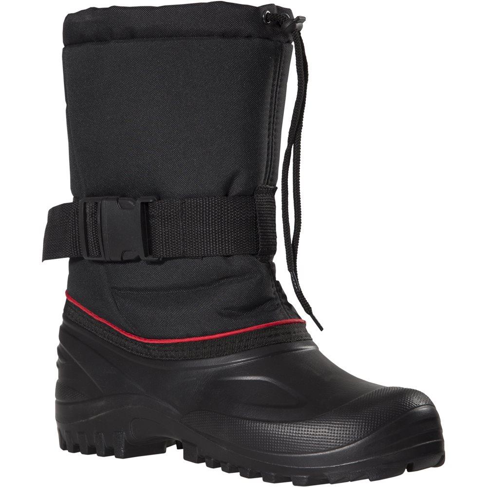 Сапоги FisherMan Nova Tour Коин, цвет: черный, красный. 95655-974. Размер 45