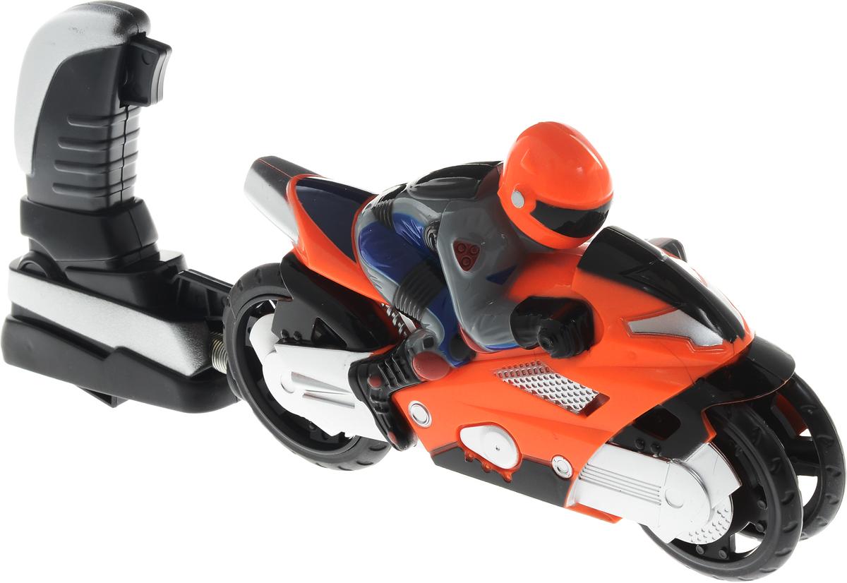 Big Motors Мотоцикл Гонщик цвет оранжевый сайт джойстик