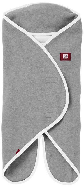 Конверт для новорожденного Red Castle Babynomade Polaire, цвет: серый, белый. 836149. Размер 62 red castle махровое полотенце с уголком варежка цвет белый