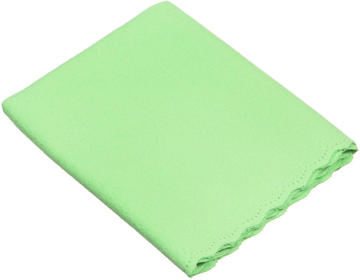 Proffi Home Салфетка для очков из микрофибры, цвет: салатовый proffi home футляр для очков fabia monti цвет бордовый