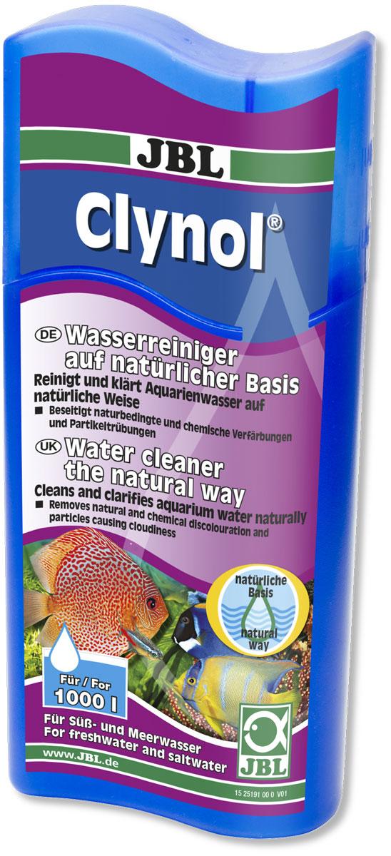 Препарат JBL Clynol, для очистки воды, на натуральной основе, 250 мл