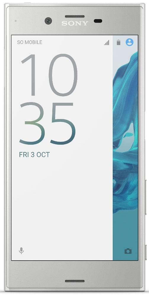 Sony Xperia XZ, Platinum1305-0673Каждая деталь Sony Xperia XZ доведена до совершенства. В нём вы найдете инновационные технологии, профессиональную камеру, умный аккумулятор и функции, которые адаптируются под особенности использования смартфона. Всё это и многое другое в стильном, современном дизайне.Камера этого смартфона отлично снимает движущиеся объекты и имеет исключительную цветопередачу. С ней вы сможете запечатлеть мир во всех красках.Датчик изображения прогнозирует движения объекта съемки, чтобы он всегда оставался в фокусе, а фотографии всегда выходили четкими. Сенсор RGBC-IR Считывает данные о видимом и ИК-цвете и корректирует баланс белого, чтобы обеспечить точную цветопередачу.С Xperia XZ вы не упустите момент - камера смартфона отлично снимает даже быстродвижущиеся объекты. Благодаря фирменному датчику изображения и лазерному автофокусу фотография будет четкой и детализированной, даже когда вы снимаете в полутьме.Сенсор RGBC-IR обеспечивает исключительно точную цветопередачу при любых условиях освещения - как под ярким солнцем, так и в помещении. Он анализирует окружающий свет и изменяет настройки так, чтобы изображение на снимке точно соответствовало тому, что вы видите на экране. Фотографии больше не нуждаются в обработке.Благодаря своему лаконичному дизайну Xperia XZ гармонично впишется в вашу жизнь. Его корпус с закругленными краями невероятно удобно ложится в руку. Влагостойкий корпус смартфона позволяет не беспокоиться о брызгах воды или внезапном дожде.Частая зарядка негативно влияет на аккумуляторы большинства смартфонов. В Xperia XZ используется интеллектуальная технология, которая следит, чтобы срок службы аккумулятора не сокращался. Она адаптируется к тому, как вы заряжаете смартфон, и в результате аккумулятор служит вдвое дольше.Благодаря поддержке Hi-Res Audio и технологии цифрового подавления шума никакие посторонние звуки не помешают вам наслаждаться любимой музыкой.В четком дисплее Full HD используются те же передовые технологии, что и