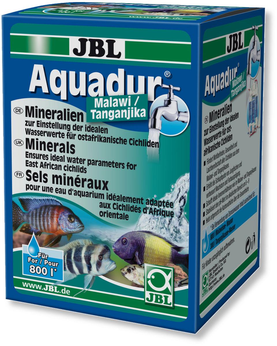 Набор минеральных солей JBL  Aquadur Malawi/Tanganjika  для восточно-африканских цихлид, с мерной ложкой, 250 г - Средства для ухода и гигиены