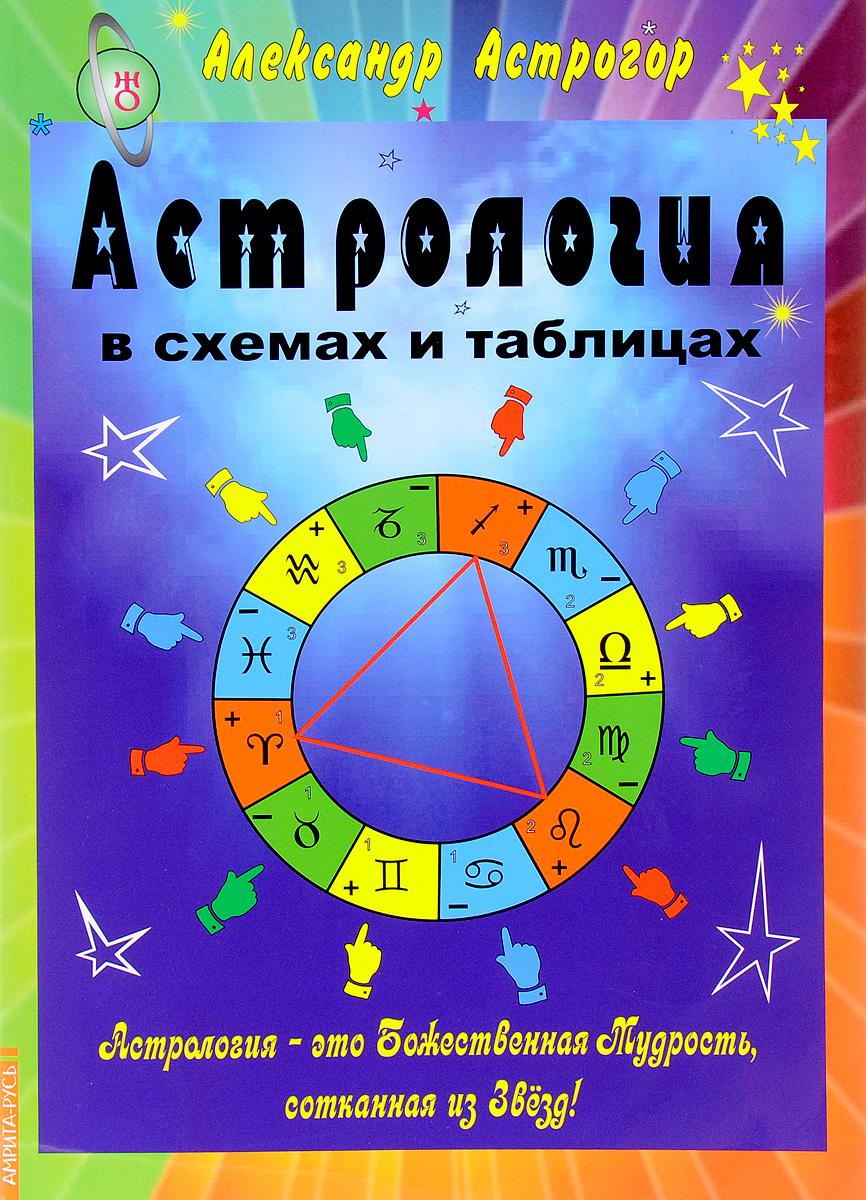 Астрология в схемах и таблицах. Александр Астрогор