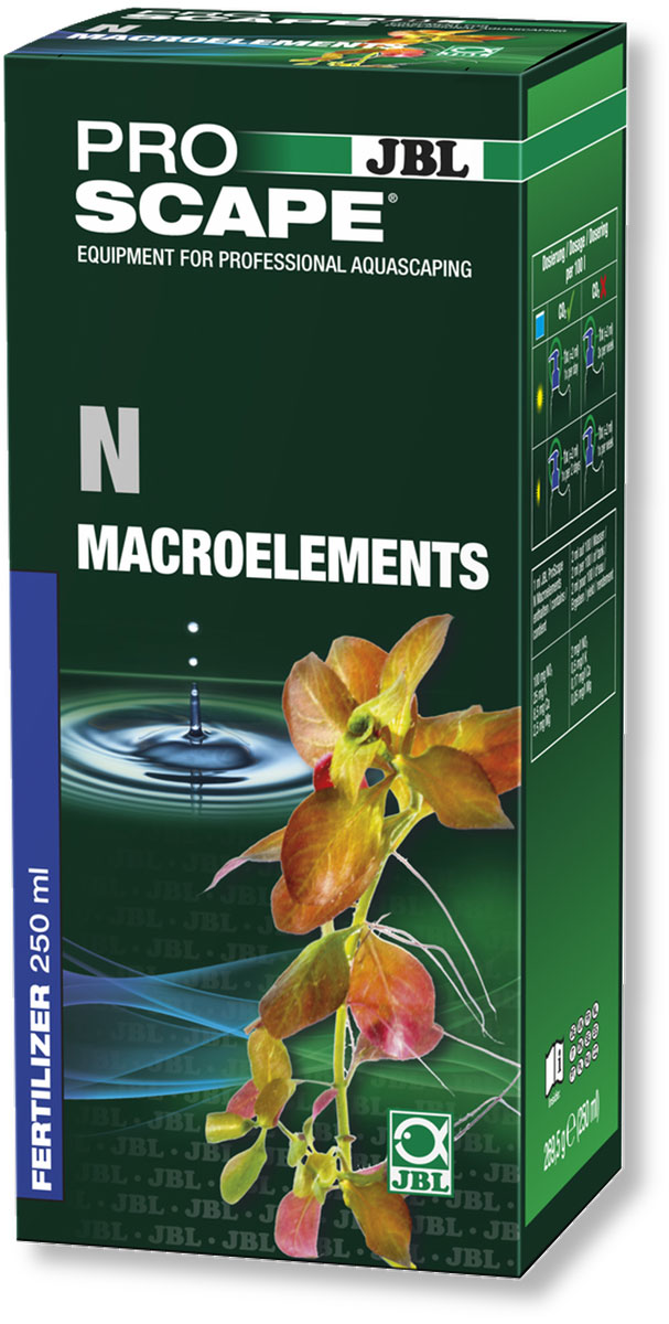Удобрение для аквариумных растений JBL N Macroelements, азотное, с дозатором, 250 мл jbl proflora bio co2 bio160 2 jbl6444600