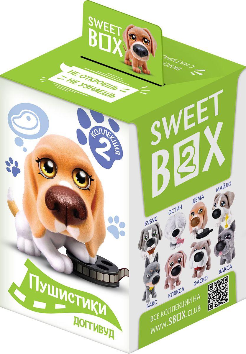 Sweet Box Пушистики Щенята Коллекция №2 жевательный мармелад с игрушкой, 10 г sweet box пони на ладони мармелад жевательный с игрушкой 10 г