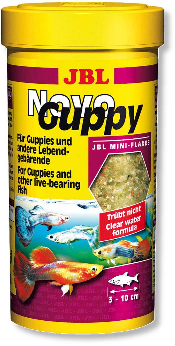 Корм JBL NovoGuppy для гуппи, 100 мл (21 г) jbl flip 3 ремонт в москве