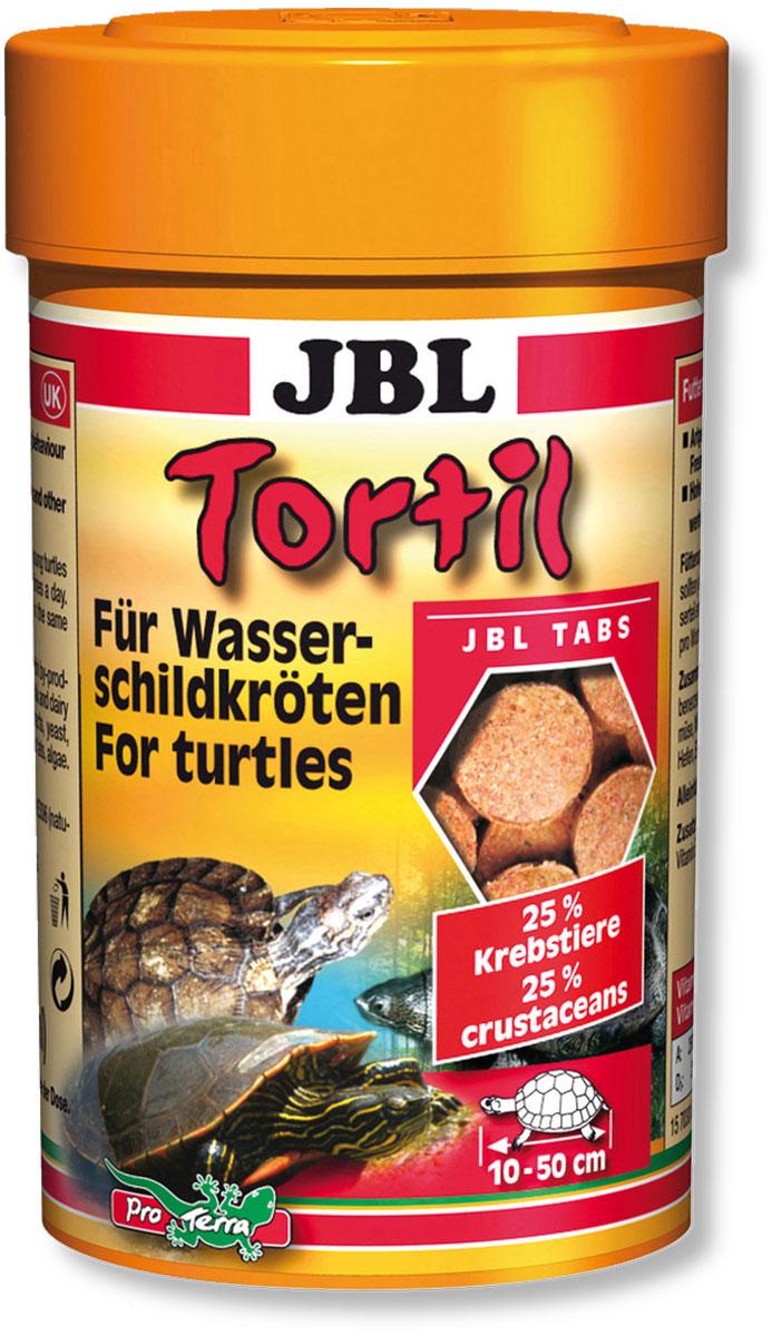 Корм JBL Tortil для водных черепах, в форме таблеток, 100 мл (60 г) островок для водных черепах киев